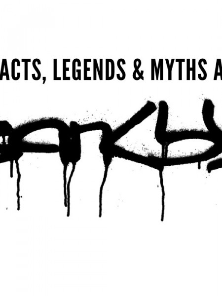 The Facts, Myths and Legends About Banksy Infographic