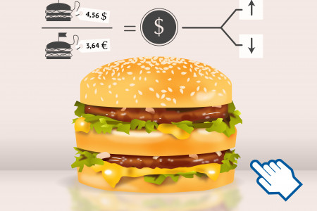 Big Mac index Infographic