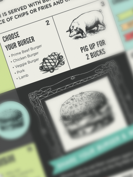 Build A Better Burger Infographic