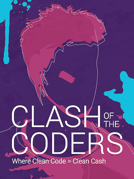 Clash Of Coders - The Contest Infographic