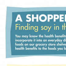 Finding Soy in the Store Infographic