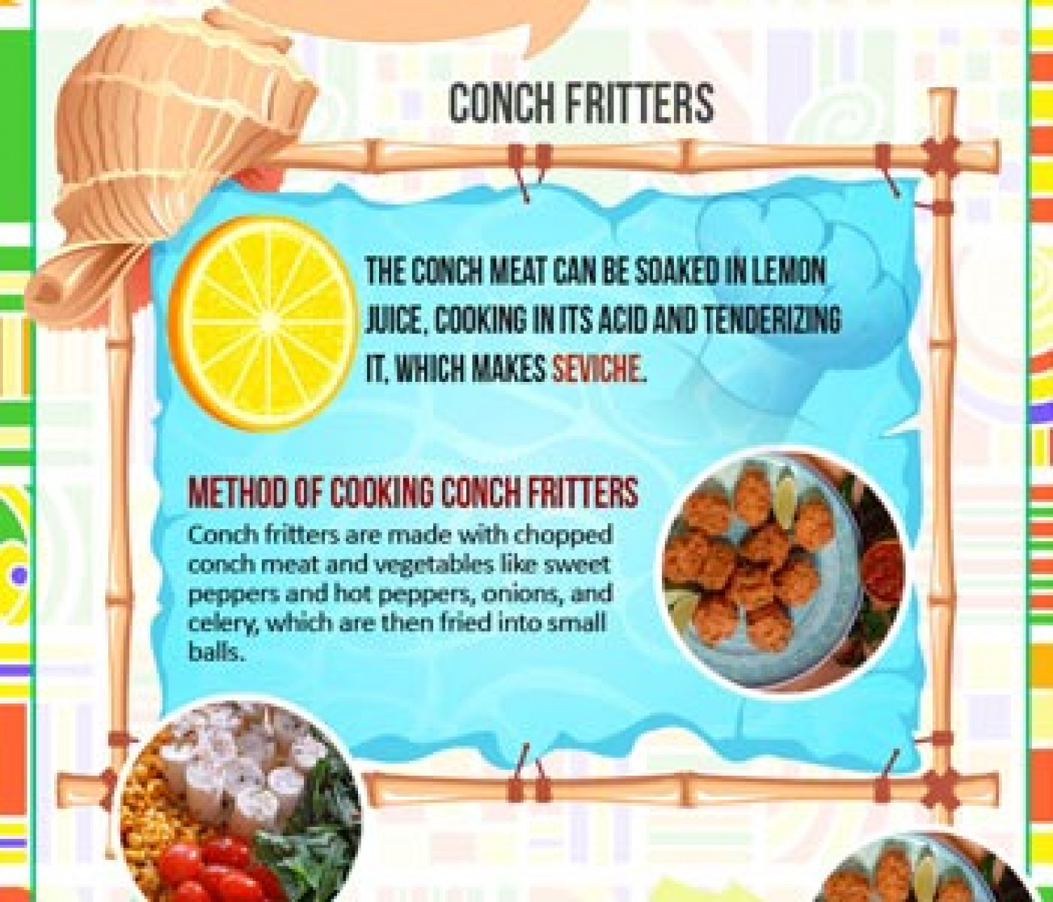 Florida Food Infographic Infographic