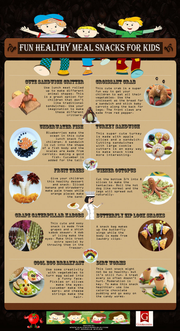 Fun Healthy Meal Snacks for Kids