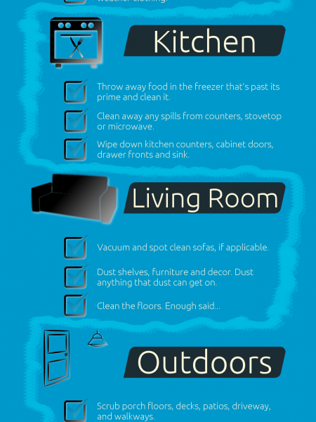 Get Your Home Ready For Summer Infographic