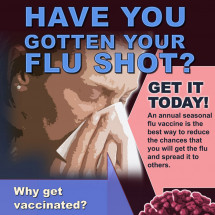Have You Gotten Your FLU SHOT? Infographic