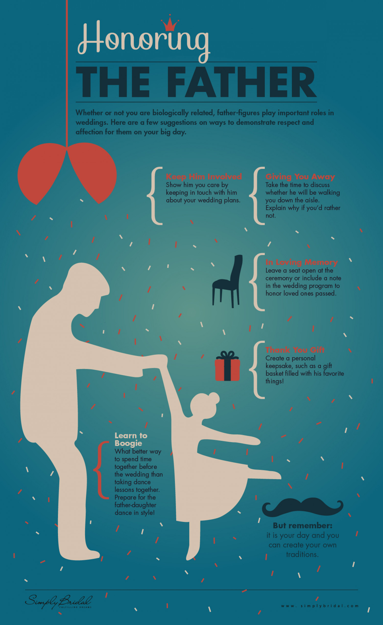 Honoring The Father Infographic