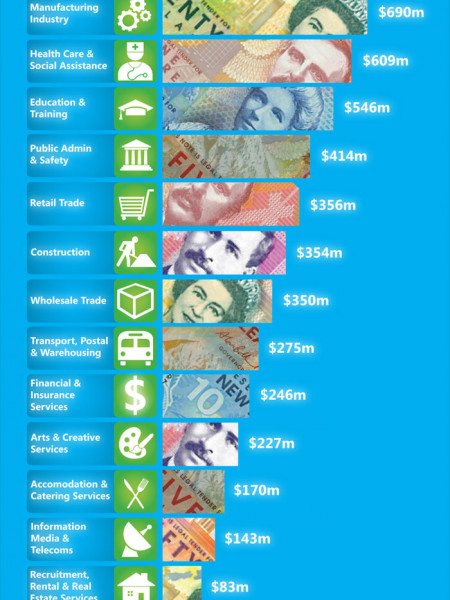 How Much Do Kiwis Earn? Infographic