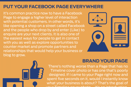 Facebook Stats & Tips Infographic