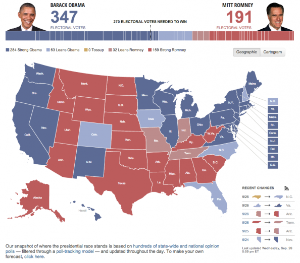 Huffpost Politics Election Maps Infographic