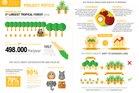 POTICO Project World Resources Institute Infographic