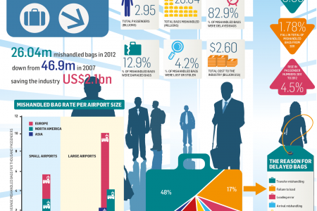 International Airport Baggage Report  Infographic