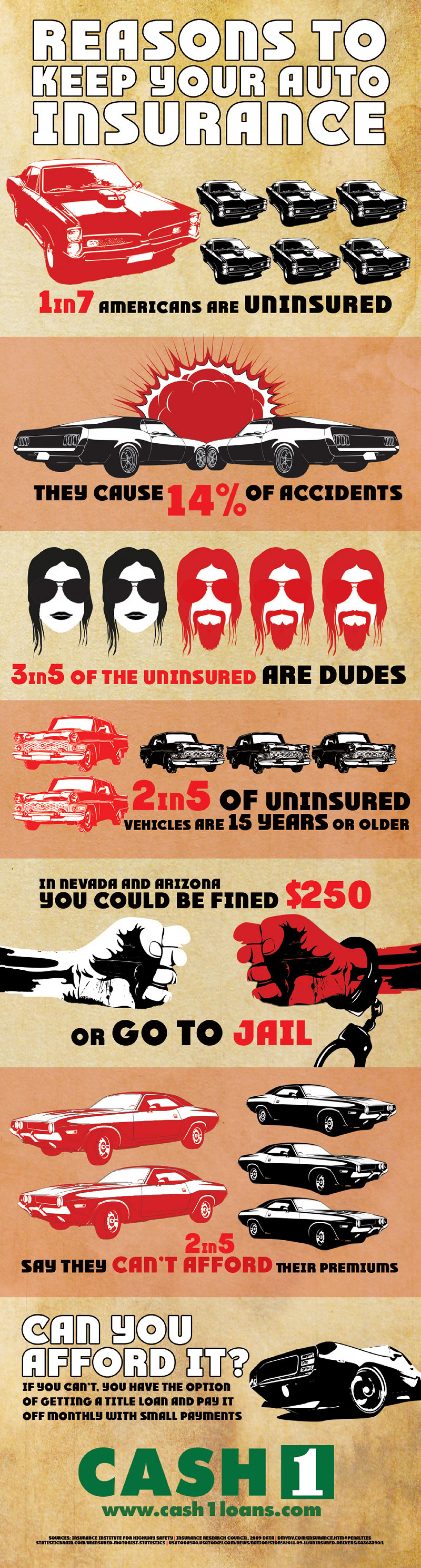 Reasons to Keep Your Auto Insurance [INFOGRAPHIC] Infographic