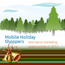 Mobile Holiday Shoppers and Merry Marketing Opportunities in 2012 Infographic