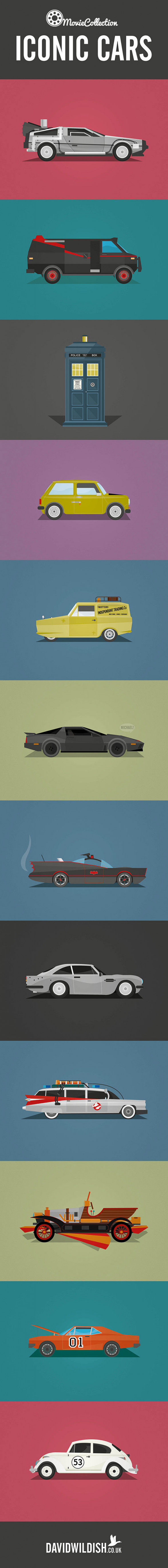 Movie & Television - Iconic Cars