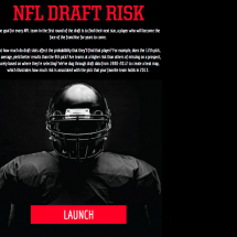 NFL Draft Risk Infographic