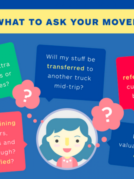 National Moving Month - Moving Tips & Tricks Infographic