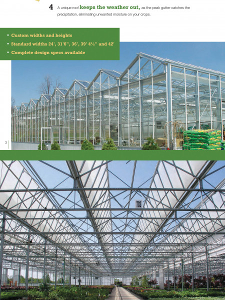 Open Roof Greenhouse Infographic
