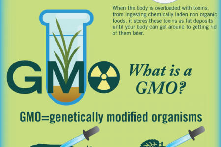 Organic Food and Weight Loss Infographic
