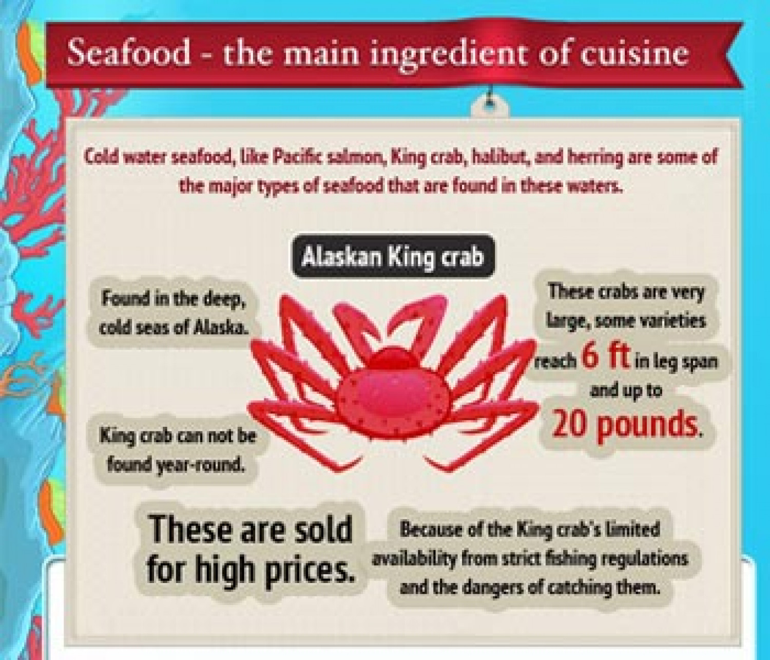 Pacific Northwest Food Infographic Infographic
