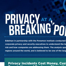 Privacy at a Breaking Point Infographic