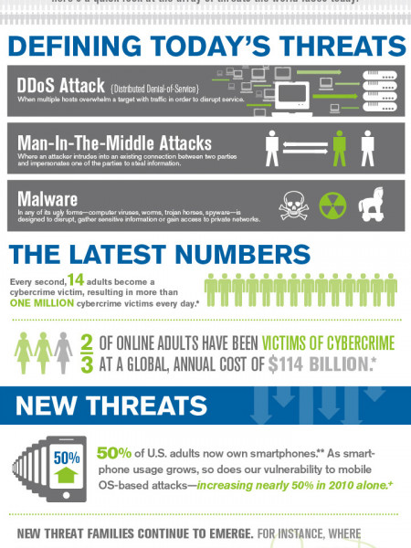 Safeguarding the Internet: Working to Secure the Web From Attacks Infographic