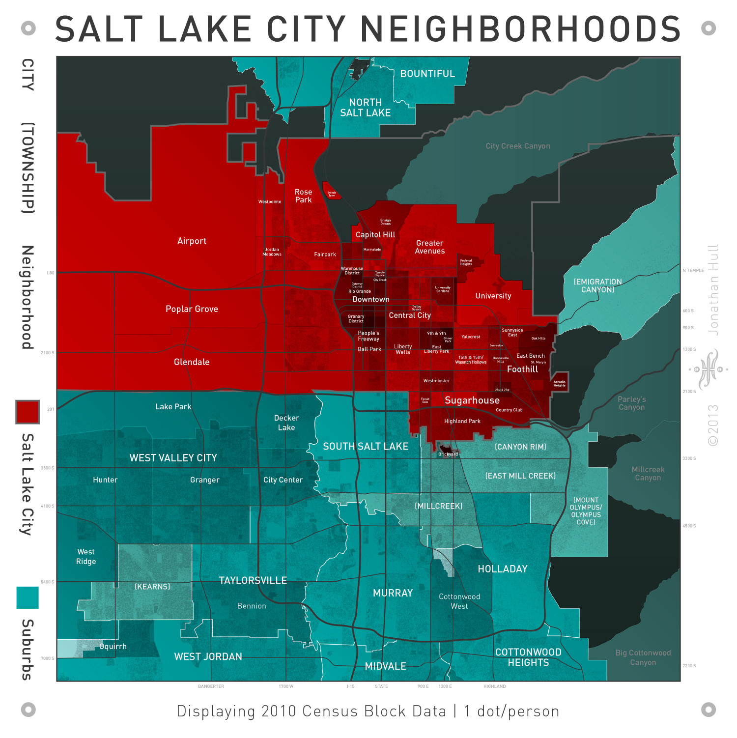 Salt Lake City Infographic