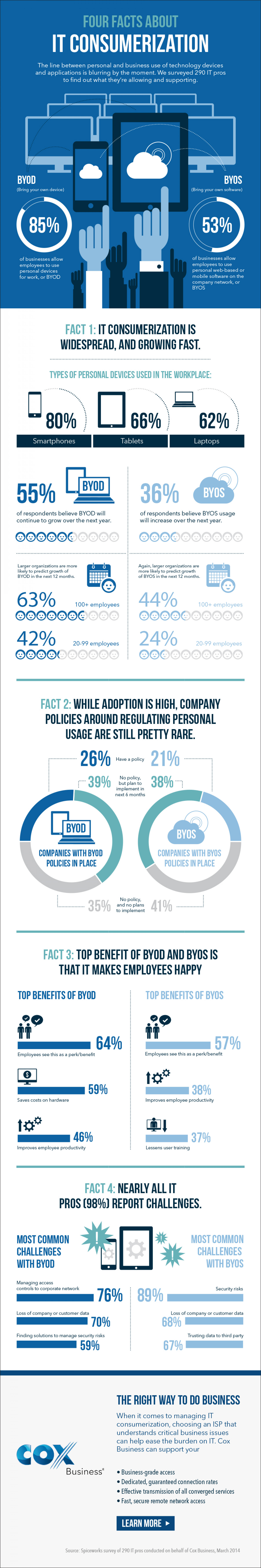 Some Facts About IT Consumerization Infographic