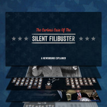 The Curious Case of the Silent Filibuster Infographic