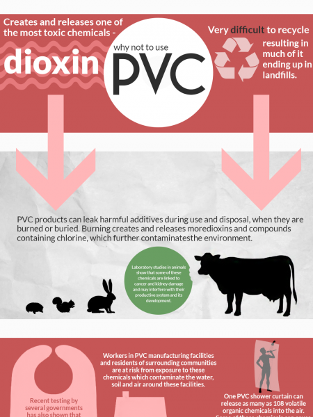 The Dangers Of PVC Infographic