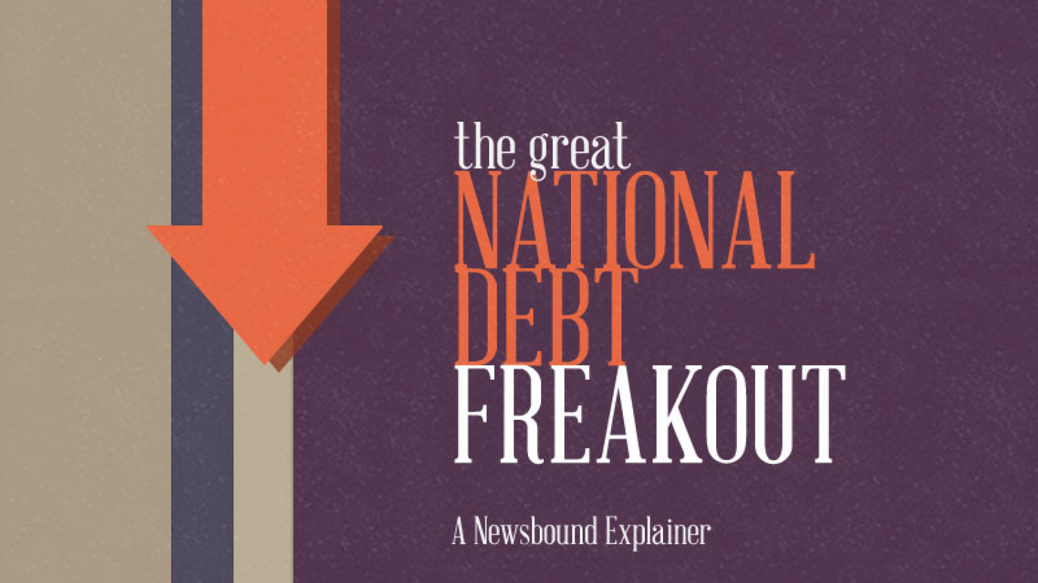 The Great National Debt Freakout Infographic