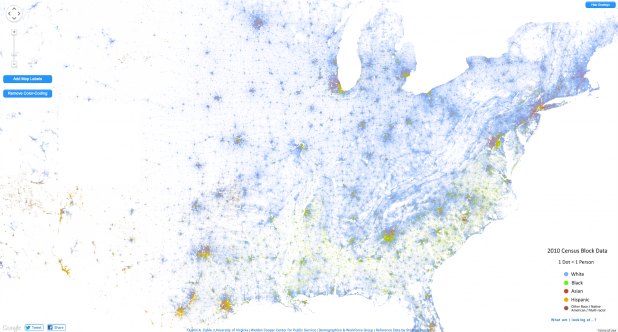 The Racial Dot Map