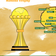 The Rise of the African Cup of Nations Infographic