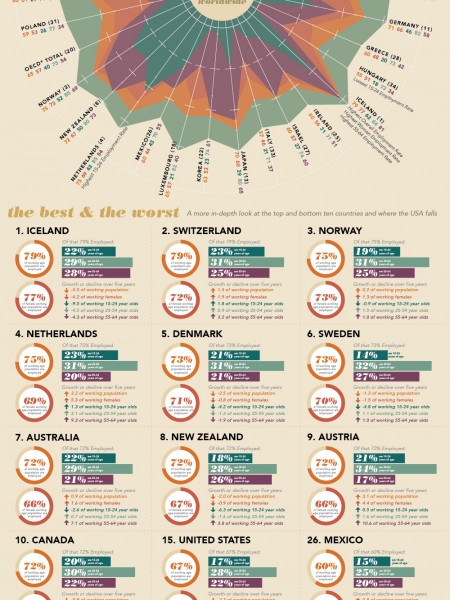 The World's Workforce Infographic
