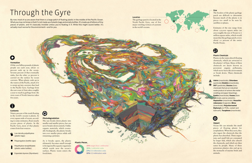 Through the Gyre Infographic