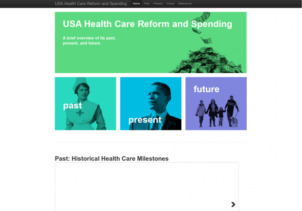 USA Health Care Reform and Spending