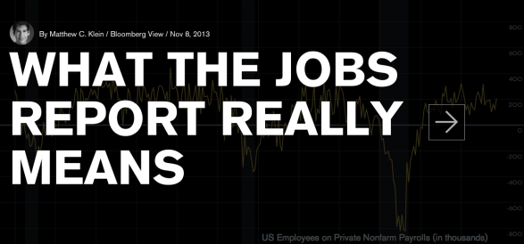 What The Jobs Report Really Means