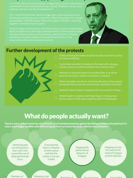 What is Happening in Turkey Infographic