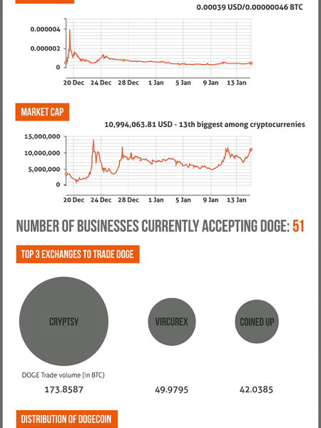 What is up with Dogecoin? [Infographic] Infographic