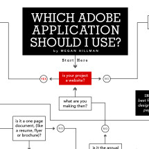 Which Adobe Application Should I Use? Infographic