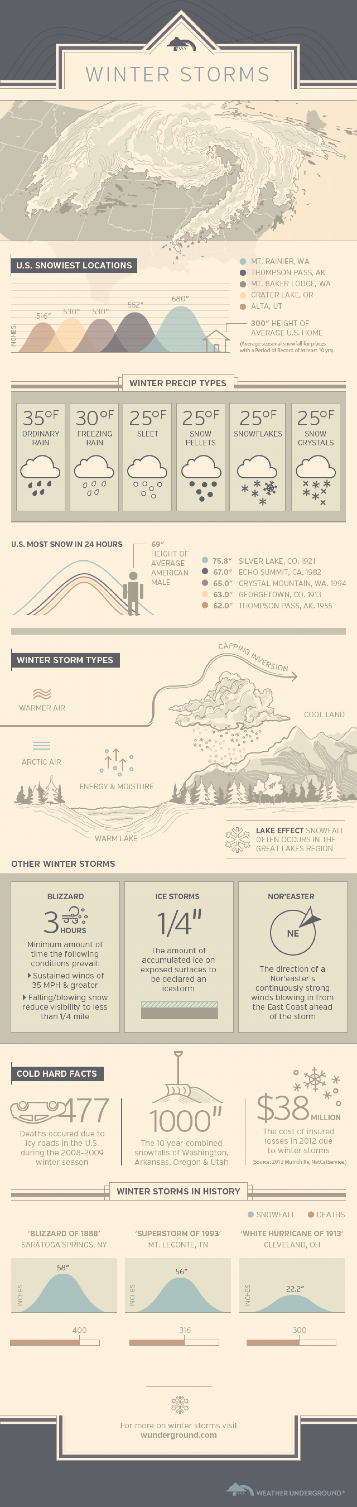 Winter Storms Infographic