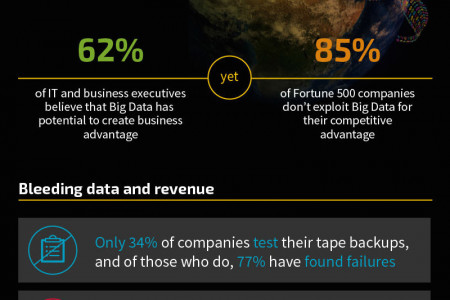 Challenges in the Age of Data Infographic