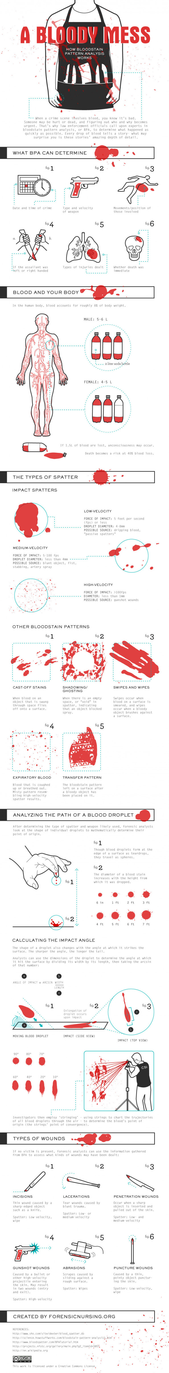 A Bloody Mess Infographic