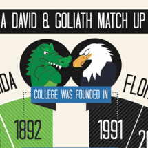 A David And Goliath Match Up Infographic