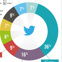 What Kind of Links Are Shared on Twitter? Infographic