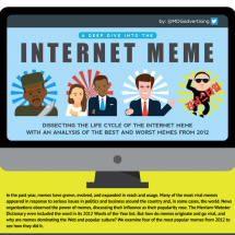 A Deep Dive into the Internet Meme Infographic