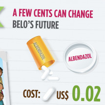 A few cents can break the cycle of poverty Infographic
