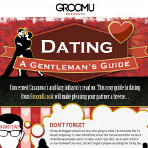 A Gentleman's Guide to Dating Infographic