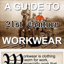 A Guide To 21st Century Workwear Infographic