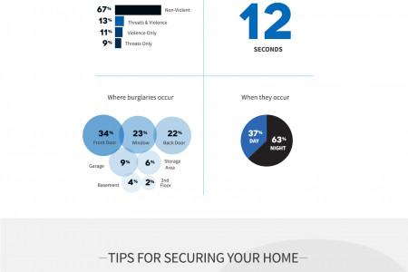 A Guide To Burglary & Home Security Infographic
