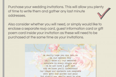 A Guide to Planning Your Wedding Stationery Infographic